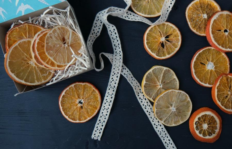 Поделки из сушеных апельсинов 702